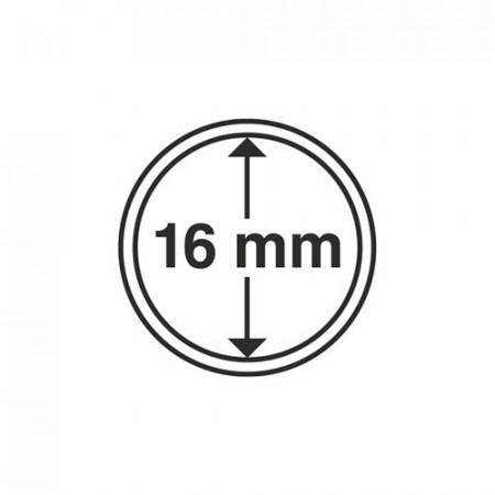 Paq. de 10 cápsula Ø 16 mm de monedas * LEUCHTTURM