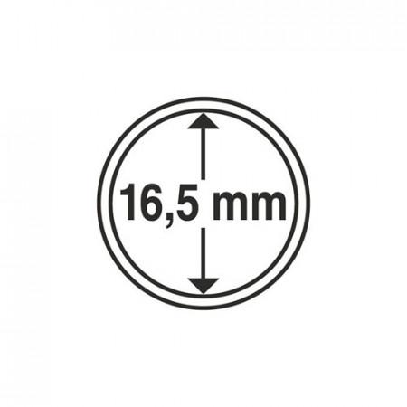 Paq. de 10 cápsula Ø 16,5 mm de monedas * LEUCHTTURM