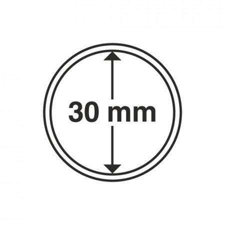 Paq. de 10 cápsula Ø 30 mm de monedas * LEUCHTTURM