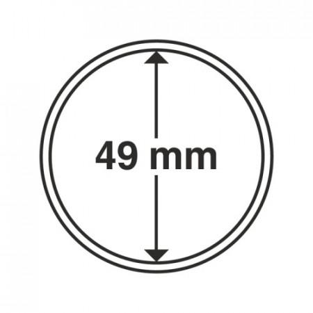 Paq. de 10 cápsula Ø 49 mm de monedas * LEUCHTTURM