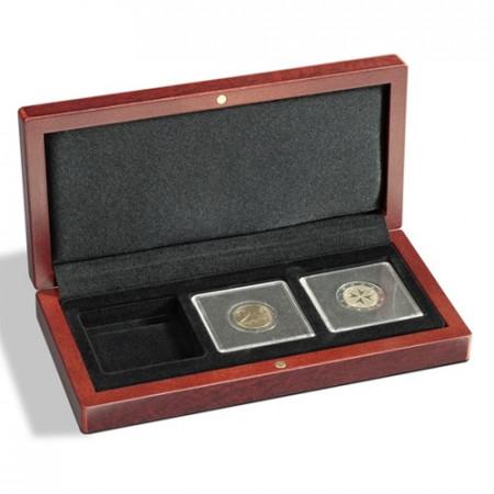 Estuche VOLTERRA QUADRUM 3 monedas * LEUCHTTURM