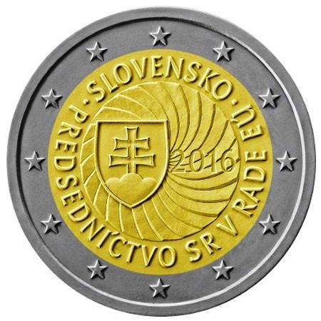 "2016 * 2 Euro ESLOVAQUIA ""Primera Presidencia Unión Europea"" UNC"