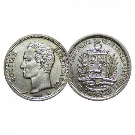 "1965 * 1 Bolivar Plata Venezuela ""Simón Bolívar"" (Y 37a) EBC+"