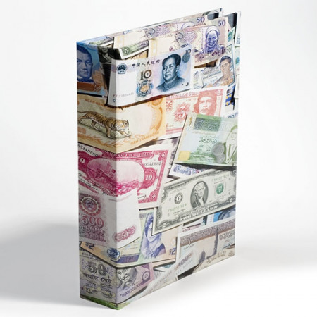 "Álbum VARIO ""BILLS"" para 300 Billetes de Banco * LEUCHTTURM"