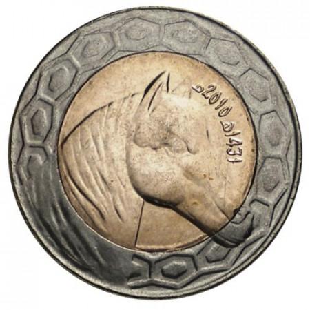 "2010 * 100 Dinars Argelia ""Arabian Horse"" (KM 132) UNC"