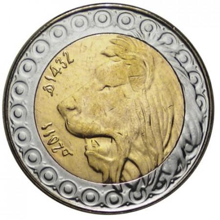 "2011 * 20 Dinars Argelia ""Barbary Lion"" (KM 125) UNC"