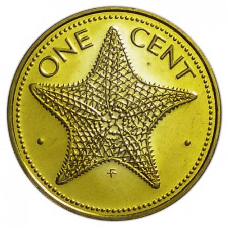 "1977 * 1 Cent Bahamas ""Starfish"" (KM 59) PROOF"
