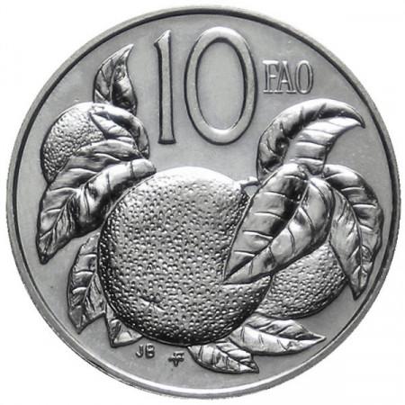 "1979 * 10 Cents Islas Cook ""Serie F.A.O."""