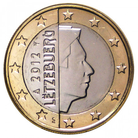 2012 * 1 euro LUXEMBURGO Gran Duque Enrique de Luxemburgo