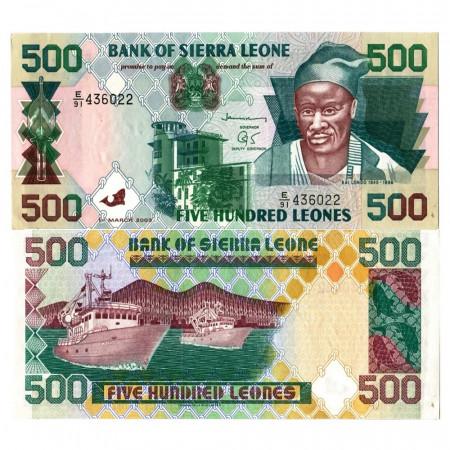 """2003 * Billete Sierra Leona 500 Leones """"Kai Londo"""" (p23d) SC"""