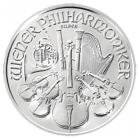 2014 * 1,5 euro 1 OZ Onza Austria Filarmónica