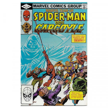 "Historietas Marvel #119 07/1982 ""Marvel Team-Up Spiderman - Gargoyle"""