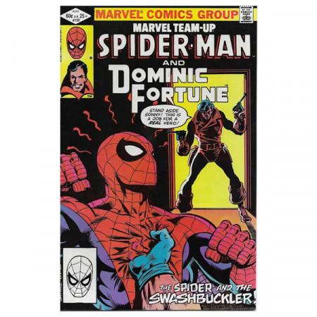 "Historietas Marvel #120 08/1982 ""Marvel Team-Up Spiderman - Dominic Fortune"""