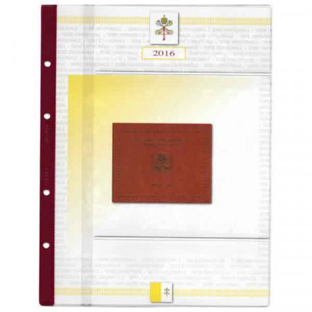 """2016 Hoya + Bolsillo Cartera Vaticano """"Papa Francisco"""" * ABAFIL"""