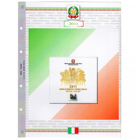 Hoya + bolsillo para cartera Italia 2011 * ABAFIL