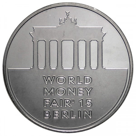 2015 * 1 Medalla token Lituania World Money Fair Berlin