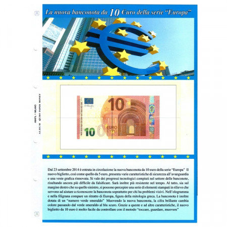 Hoya por nuevo billete de 10 euros * ABAFIL