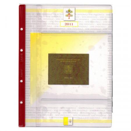 ABAFIL * Hoya + bolsillo para cartera Vaticano Papa Benedicto XVI 2011