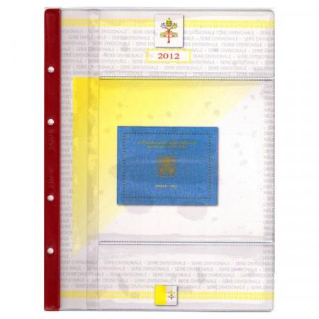 ABAFIL * Hoya + bolsillo para cartera Vaticano Papa Benedicto XVI 2012