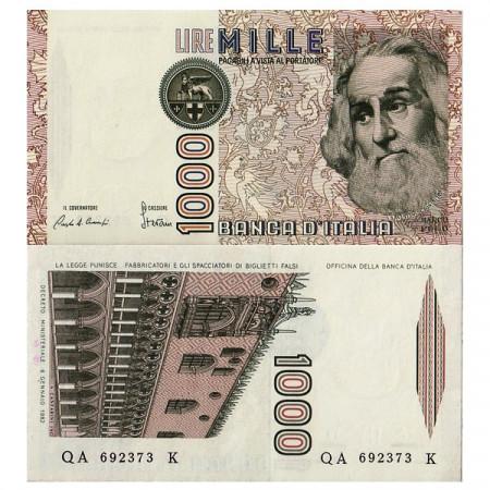 """1982 A * Billete Italia 1000 Lire """"Marco Polo"""" BI.727 (p109a) SC"""