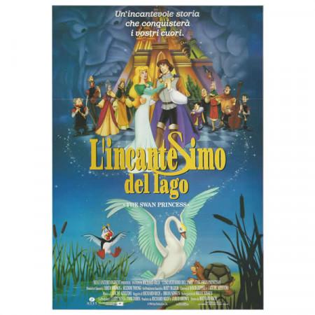 """1994 * Cartel Cinematográfico """"La Princesa Cisne - Angel Studios"""" Fantasy Anime"""