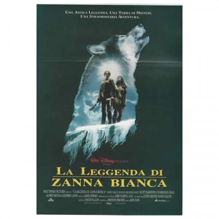 """1994 * Cartel Cinematográfico """"Vuelve Colmillo Blanco - Walt Disney"""" Dramma/Fantasy"""