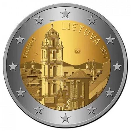 """2017 * 2 Euro LITUANIA """"Vilna - Capital Cultural"""" UNC"""