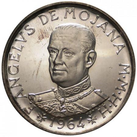"""1964 * 2 Scudi Plata Orden de Malta (SOM) """"Angelo de Mojana di Cologna"""" (X 10) FDC"""