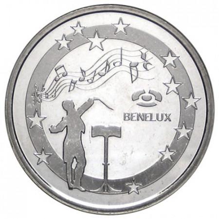 2010 * Medalla BENELUX Himnos Oficiales
