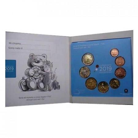"2019 * ITALIA Cartera Oficial EuroSet 8 Monedas ""Baby"" FDC"