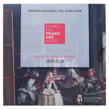 """2019 * ESPANA Cartera Oficial Euro """"Bicentenario del Museo del Prado"""" FDC"""