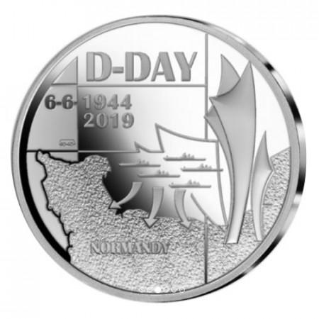 "2019 * 5 Euro BÉLGICA ""75 Años D-Day"" FDC"