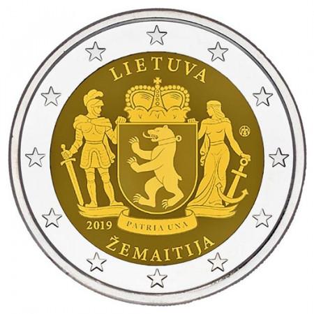 """2019 * 2 Euro LITUANIA """"Samogitia"""" UNC"""
