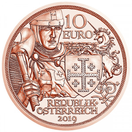 "2019 * 10 Euro Cobre AUSTRIA ""Aventuras"" UNC"