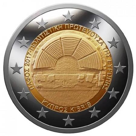 "2017 * 2 Euro CHIPRE ""Pafos - Capital Europea de la Cultura"" UNC"