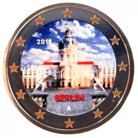 "2018 * 2 Euro ALEMANIA ""Palacio de Charlottenburg - Berlín"" Colorido"