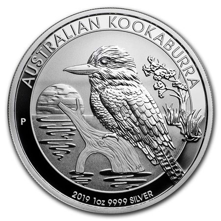 "2019 * 1 Dólar Plata 1 OZ Australia ""Kookaburra"" FDC"