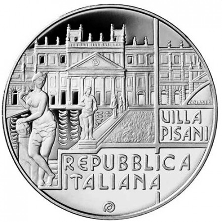 """2018 * 5 Euro ITALIA """"Veneto - Ville Venete"""" PROOF"""