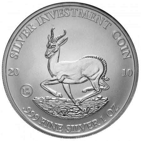 2010 * 50 kwacha de plata 1 OZ Malaui Springbok