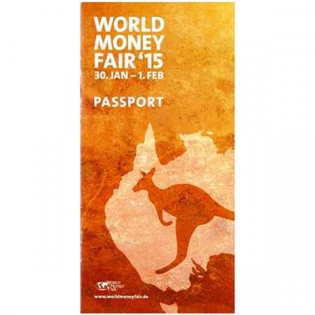 2015 * Passport World Money Fair Royal Australian Mint