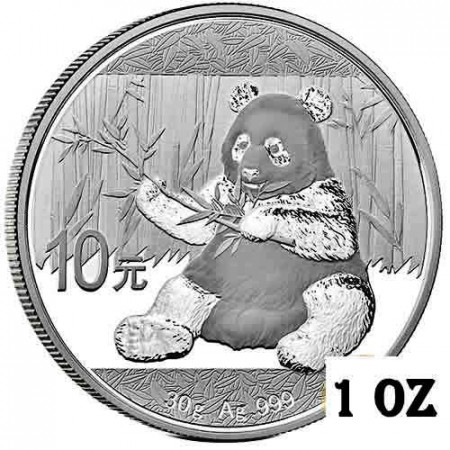 "2017 * 10 Yuan Plata (30gr) China ""Panda"" FDC"