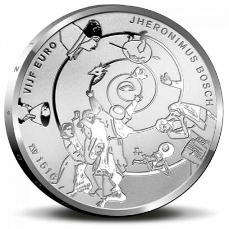 "2016 * 5 Euro PAISES BAJOS ""Jheronimus Bosch"" FDC"