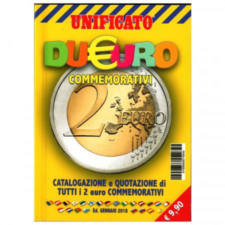 2018 Catalogo CIF 2 Euro Conmemorativo * UNIFICATO