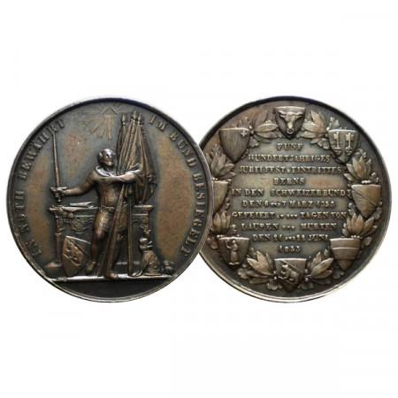 "1853 * Medalla Suiza ""500°Aniversario de Berna"" EBC+"