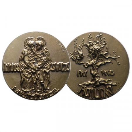 """1975 * Medalla VATICANO """"Pablo VI - Anno Santo"""" FDC"""