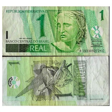"""ND (2003) * Billete Brasil 1 Real """"República Federativa"""" (p251a) BC"""