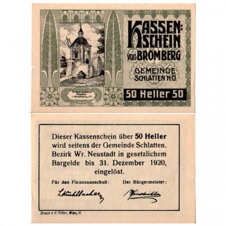 "1920 * Notgeld Austria 50 Heller ""Baja Austria – Bromberg"" (FS 105)"