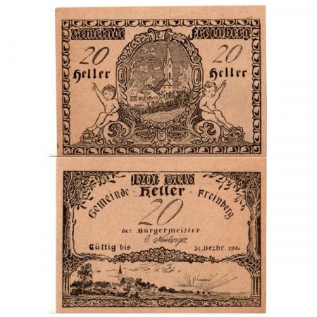 "1920 * Notgeld Austria 20 Heller ""Alta Austria - Freinberg"" (FS 211Ib)"