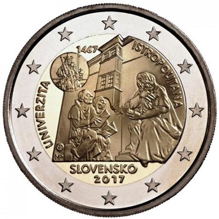 "2017 * 2 Euro ESLOVAQUIA ""Universidad Istropolitana"" UNC"