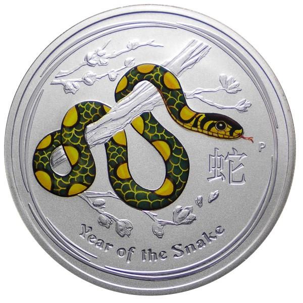 Ee.uu Año de la Serpiente Year Of The Snake 2013 1oz 999 Cobre Medalla de Cobre